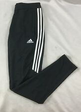 Adidas Men's TIR017 Climacool Soccer Sweat Pants Dark Gray White BS3678 Size M