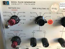 HP 8002A pulse generator