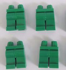 Lego 4  Leg  Legs Lower Parts For Minifigure Figure  Green