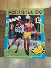 panini album complet football Belgium 1994 Belgique 94