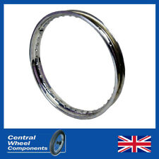 "21"" Stainless Wheel Rim - WM1 Triumph (BSA) 6 Conical Front Adventurer TR5T B50"