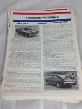 VTG 1980s Lot of 28 American Motoring Magazines AMC Car Pictures Advertising