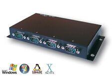 Exsys ex-1334is - USB a 4x en serie rs-232 puertos, carcasa de metal