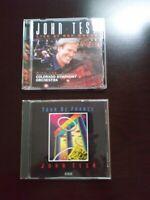 Lot Of 2 John Tesh CD's, Tour De France & Live At Red Rocks w/ Colorado Symphony