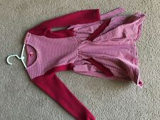 No Added Sugar Red White Stripe Dress 5 6