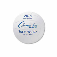 Champion Sports Volleyball, Rubber/Nylon, Official Size, White, EA - CSIVR4