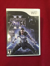 Nintendo Wii Star Wars The Force Unleashed Video Game Rated T