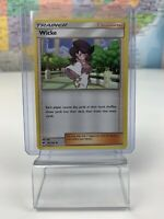 SHIPS SAME DAY Pokemon Card NM Wicke 127/147 Supporter 2017 Uncommon