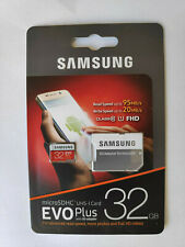 Genuine Samsung 32GB Micro SD Card SDHC EVO+ Plus UHS-I Class 10 Memory Card