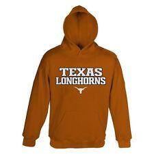 ($40) Texas Longhorns Jersey HOODIE/HOODY Sweatshirt YOUTH KIDS BOYS (L-LARGE)