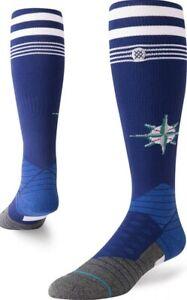 Stance Diamond Pro MLB Socks Seattle Mariners Team Baseball Socks L 9-12 $24