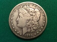 1892 S VERY RARE MORGAN SILVER DOLLAR - INHERITED COIN FROM Grandpa's Collection