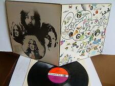 Led Zeppelin - III 2401 002 UK LP 1970 Atlantic Plum/Red  Peter Grant credit