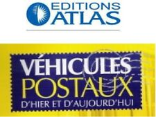 Atlas booklet postal vehicles post ptt post delivered without miniature to choice