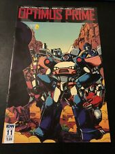 IDW Comics: Optimus Prime Issue 11 Cover A (Sept 2017) Transformers