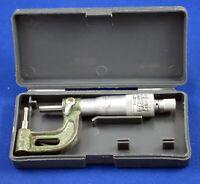 """Mitutoyo 295-704 Rolling Digital Tube Micrometer 0-1/""""//25mm Range .0001/""""//0.01mm"""