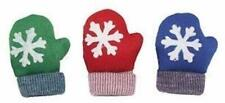 """(3 TOYS) MULTIPET XMAS CATNIP MITTEN 4"""" HOLIDAY CAT TOY COLORS VARY ARE ASSORTED"""