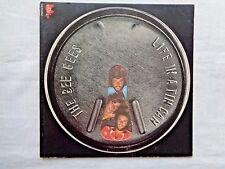 Bee Gees Life In A Tin Can 1973 RSO SO-870 1st Artisan Die-Cut Press w/Inner VG-
