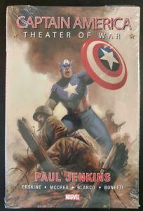 CAPTAIN AMERICA #1 Theater of War (MARVEL Comics) ~ FN ~ HC Hard Cover Book