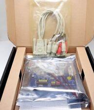 New Genuine Geovision GV-800B EXV5.10 4 Ch Hybrid PCI-e Win 7 8 10 DVR CCTV Card