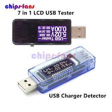 LCD USB Doctor Tester Voltmetro Amperometro Voltaggio Corrente Rilevatore di capacità di alimentazione