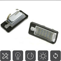 2PCS LED License Plate Lights Xenon White For Audi A3/S3 A4 B6 A4 B7 S4 B6 B7