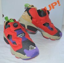 a5edf2426745 New Reebok Instapump Pump Fury OG Villains Pack TMNT BeBop Red Purple Black  11