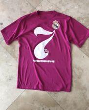 Mens Athletic Soccer Shirt M Pink Real Madrid