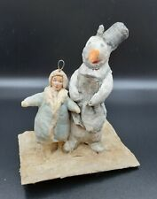 Christmas Tree Ornaments, Christmas Vintage decoration, Cotton USSR 1930s  ~~~