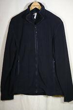 Pullover hoher Kragen Jacke Damen Pulli Fleece von Kariban Gr. L schwarz