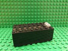 LEGO Nero Elettrico 9V SCATOLA BATTERIA PICCOLA COMPLETA assieme parte 4760c01