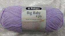 Patons Big Baby 4 Ply #2570 Mauve 100g Acrylic