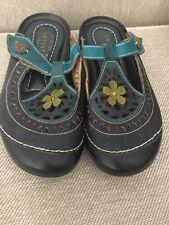 L'Artiste Comfort Slide On By Spring Step Size 5.5-6, EU 36 B Leather