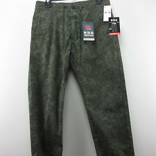 Mens Pants Dockers Camouflage W 30 X L 32 Casual On The Job Cropped Khaki NWT