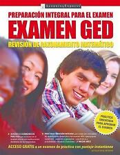 Examen GED Revison de Razonamiento Matematico (Paperback or Softback)