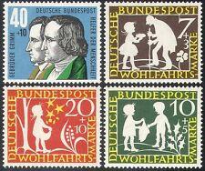 Germania 1959 dei fratelli Grimm fairy STORIE/Libri/Letteratura/RACCONTI/PEOPLE 4v Set (n27886)