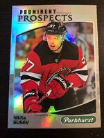 Nikita Gusev 2019-20 Upper Deck Parkhurst Prominent Prospects #PP-23 Devils RC