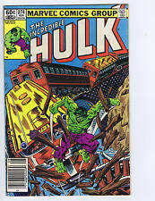 Incredible Hulk #274 Marvel 1982