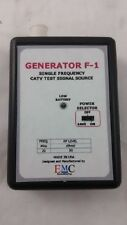 Single Frequency Catv Test Signal Source Generator F-1 Electro Mart Corp.