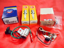 SET IGNITION CONTACTS CONDENSER CANDLES FIAT 126 BIS 700cc