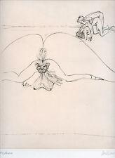 BELLMER HANS GRAVURE 1973 SIGNÉE CRAYON NUM/100 HANDSIGNED ETCHING SURRÉALISME