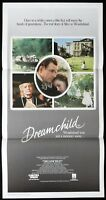 DREAMCHILD Original Daybill Movie Poster Coral Browne Ian Holm Peter Gallagher