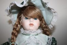 Beautiful Bru Jne reproduction Bisque head cloth body Hand Made dimpled chin