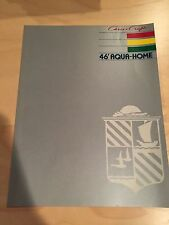 Chris Craft Aqua Home 46 House Boat Brochure  ~1984