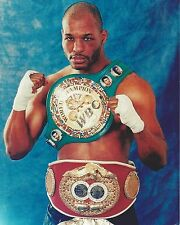 BERNARD HOPKINS 8X10 PHOTO BOXING PICTURE WITH BELT
