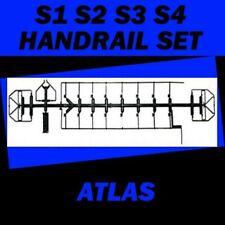 S1 S2 S3 S4 HANDRAIL SET 807208  ATLAS ROCO HO Scale S-1 S-2 S-3 S-4