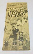 RARE 1973 Dogpatch USA Amusement Park Brochure Booklet
