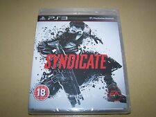 Syndicate PS3 **New and Sealed**