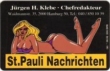 Dummy einer Visitenkarte St. Pauli Nachrichten * 08.92 200