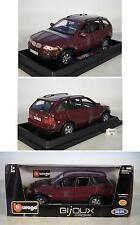 Bburago 1/24 BMW X5 weinrot OVP #6447